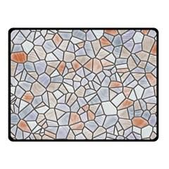 Mosaic Linda 6 Double Sided Fleece Blanket (small)