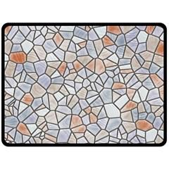 Mosaic Linda 6 Double Sided Fleece Blanket (large)