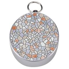 Mosaic Linda 6 Silver Compasses