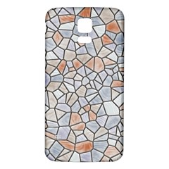 Mosaic Linda 6 Samsung Galaxy S5 Back Case (white)