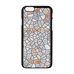 Mosaic Linda 6 Apple Iphone 6/6s Black Enamel Case