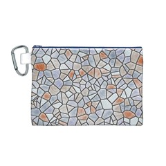 Mosaic Linda 6 Canvas Cosmetic Bag (m)