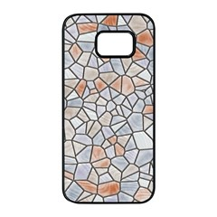 Mosaic Linda 6 Samsung Galaxy S7 Edge Black Seamless Case