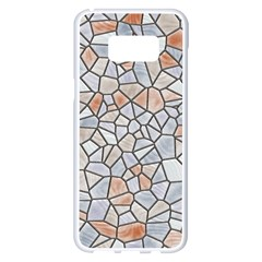 Mosaic Linda 6 Samsung Galaxy S8 Plus White Seamless Case