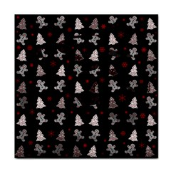 Ginger Cookies Christmas Pattern Face Towel