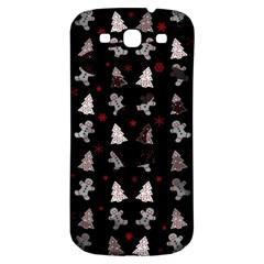 Ginger Cookies Christmas Pattern Samsung Galaxy S3 S Iii Classic Hardshell Back Case