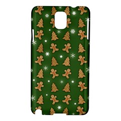 Ginger Cookies Christmas Pattern Samsung Galaxy Note 3 N9005 Hardshell Case