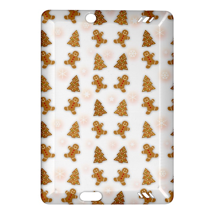 Ginger cookies Christmas pattern Amazon Kindle Fire HD (2013) Hardshell Case