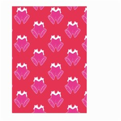 Christmas Red Pattern Reasons Large Garden Flag (two Sides)