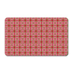 Christmas Paper Wrapping Paper Magnet (rectangular)