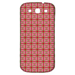 Christmas Paper Wrapping Paper Samsung Galaxy S3 S Iii Classic Hardshell Back Case