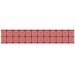 Christmas Paper Wrapping Paper Flano Scarf (large)