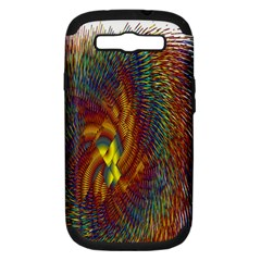 Fire New Year S Eve Spark Sparkler Samsung Galaxy S Iii Hardshell Case (pc+silicone)