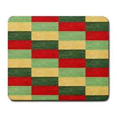 Fabric Coarse Texture Rough Red Large Mousepads