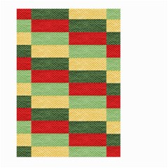 Fabric Coarse Texture Rough Red Large Garden Flag (two Sides)