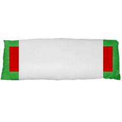 Fabric Christmas Red White Green Body Pillow Case Dakimakura (two Sides)