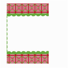 Frame Pattern Christmas Frame Large Garden Flag (two Sides)
