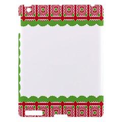 Frame Pattern Christmas Frame Apple Ipad 3/4 Hardshell Case