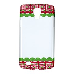 Frame Pattern Christmas Frame Galaxy S4 Active