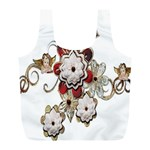 Gems Gemstones Jewelry Jewel Full Print Recycle Bags (L)  Front