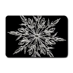 Ice Crystal Ice Form Frost Fabric Small Doormat