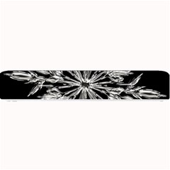 Ice Crystal Ice Form Frost Fabric Small Bar Mats
