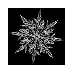 Ice Crystal Ice Form Frost Fabric Acrylic Tangram Puzzle (6  X 6 )