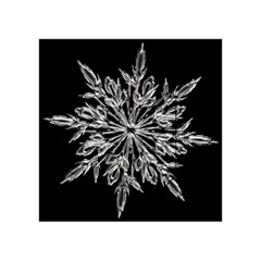 Ice Crystal Ice Form Frost Fabric Acrylic Tangram Puzzle (4  X 4 )