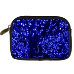 Lights Blue Tree Night Glow Digital Camera Cases Front