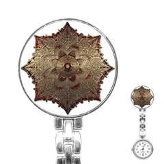 Jewelry Jewel Gem Gemstone Shine Stainless Steel Nurses Watch