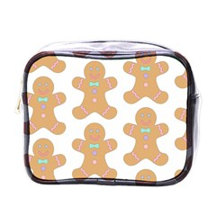 Pattern Christmas Biscuits Pastries Mini Toiletries Bags