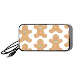 Pattern Christmas Biscuits Pastries Portable Speaker