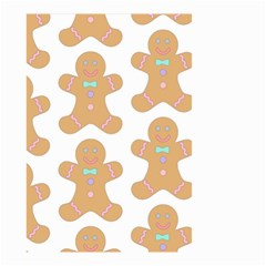 Pattern Christmas Biscuits Pastries Small Garden Flag (two Sides)