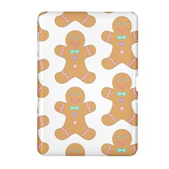 Pattern Christmas Biscuits Pastries Samsung Galaxy Tab 2 (10 1 ) P5100 Hardshell Case