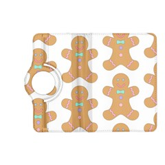 Pattern Christmas Biscuits Pastries Kindle Fire Hd (2013) Flip 360 Case