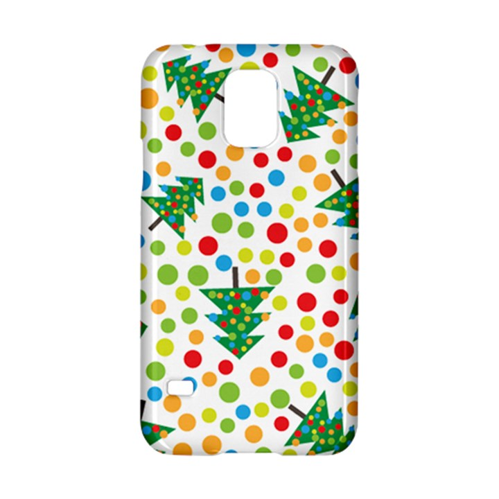 Pattern Circle Multi Color Samsung Galaxy S5 Hardshell Case