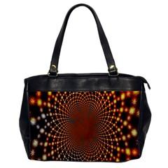 Pattern Texture Star Rings Office Handbags