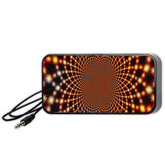 Pattern Texture Star Rings Portable Speaker