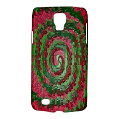 Red Green Swirl Twirl Colorful Galaxy S4 Active
