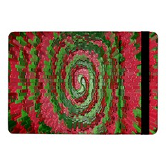Red Green Swirl Twirl Colorful Samsung Galaxy Tab Pro 10 1  Flip Case
