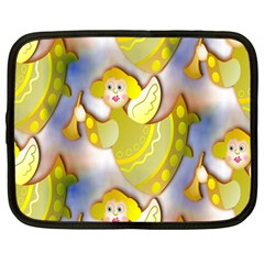 Seamless Repeat Repeating Pattern Netbook Case (large)
