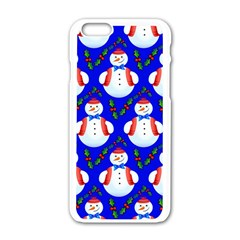 Seamless Repeat Repeating Pattern Apple Iphone 6/6s White Enamel Case