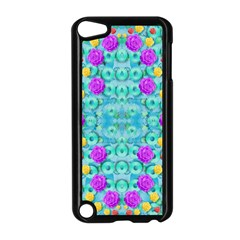 Season For Roses And Polka Dots Apple Ipod Touch 5 Case (black)