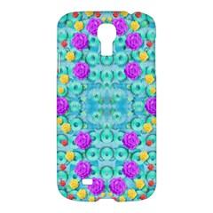 Season For Roses And Polka Dots Samsung Galaxy S4 I9500/i9505 Hardshell Case