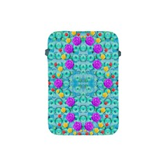 Season For Roses And Polka Dots Apple Ipad Mini Protective Soft Cases