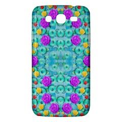 Season For Roses And Polka Dots Samsung Galaxy Mega 5 8 I9152 Hardshell Case