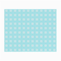 Snowflakes Paper Christmas Paper Small Glasses Cloth (2 Side)
