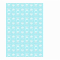 Snowflakes Paper Christmas Paper Small Garden Flag (two Sides)
