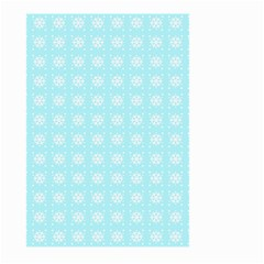 Snowflakes Paper Christmas Paper Large Garden Flag (two Sides)