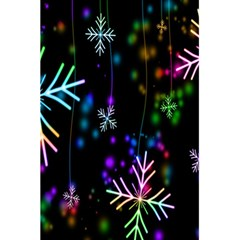 Snowflakes Snow Winter Christmas 5 5  X 8 5  Notebooks
